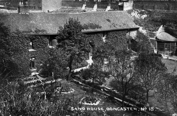 The Sand House c.1912, viewed from Green Dyke Lane