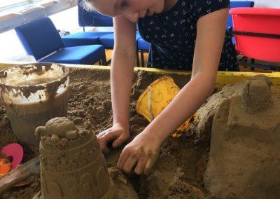 Sand modelling 1