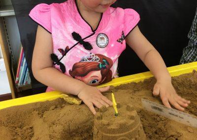 Sand modelling 2