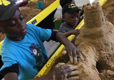 Sand modelling 3